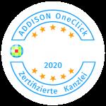Zertifizierte ADDISON OneClick Kanzlei 2020